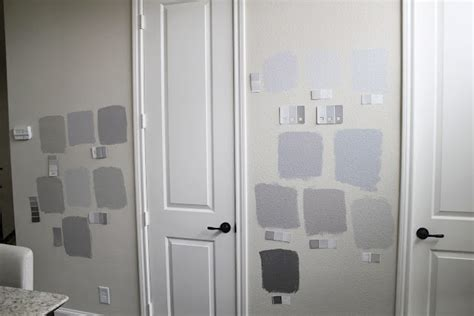 choosing the right gray color grey painted room