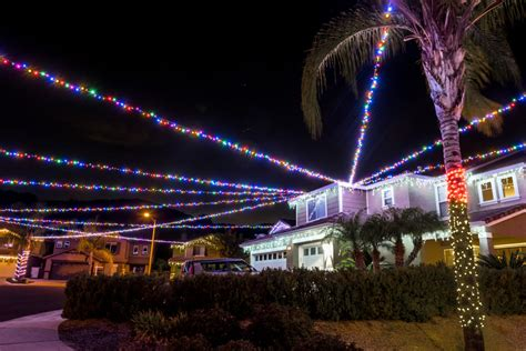 best christmas lights in fullerton these homes already their lights up but how soon is soon orange county