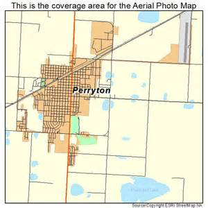 aerial photography map of perryton tx