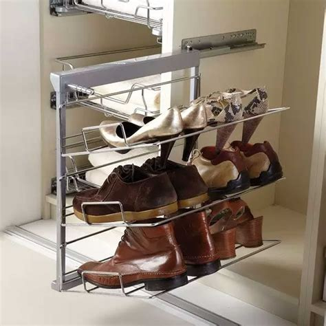 Three Tier Pull out Shoe Rack   Soft Close