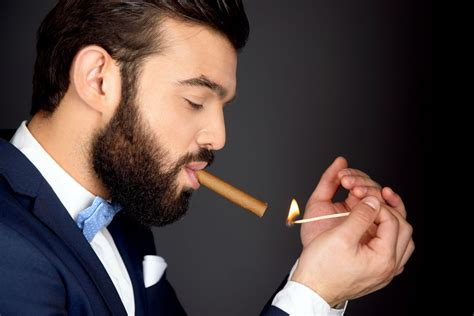 How To Properly Light A Cigar by Image Gallery Lighting A Cigar