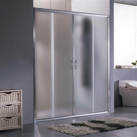 porta doccia vetro porta scorrevole per nicchia anta scorrevole da 170 o 180