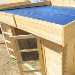 chalet jardin boutique abri bois soleil toit plat