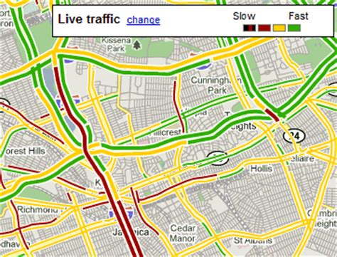 live road map maps mobile users send traffic data
