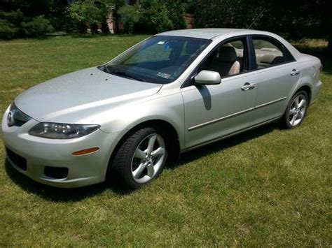 sell used 2006 mazda6 gold 3l 181 ci v6 6speed w auto shifter in harleysville pennsylvania