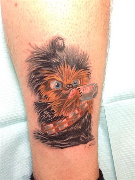 chewbacca tattoo baby chewbacca by rob levis rob color