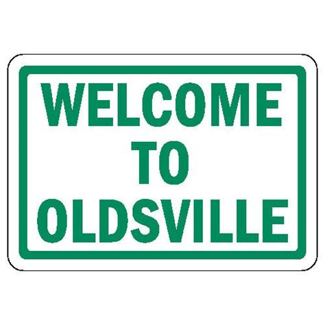 printable over the hill road signs over the hill sign printable welcome to oldsville over