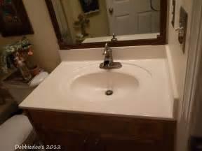 faux marble bathroom countertops diy painted countertops using giani granite paint kit