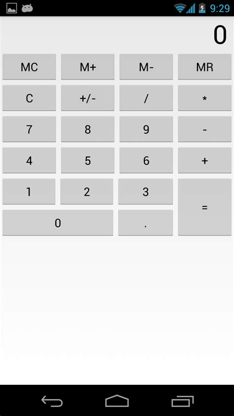 android studio keyboard tutorial android tutorial calculator app with exle java code