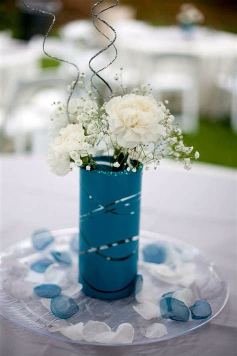 Dollar Tree Vases Centerpieces by 25 Best Ideas About Teal Centerpieces On Teal