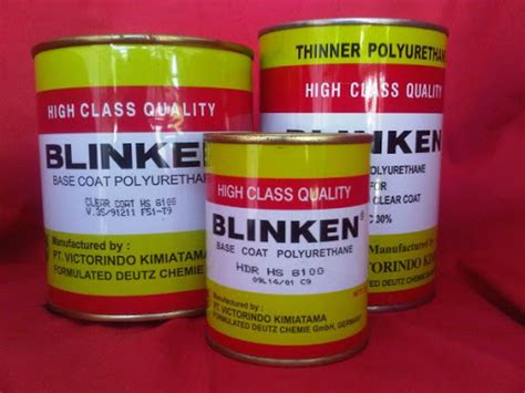 Harga Clear Coat Blinken katalog produk clear coat cat mobil look kilap basah
