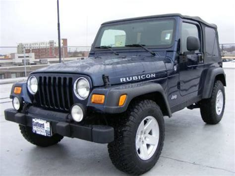 2006 Jeep Rubicon For Sale Used 2006 Jeep Wrangler Rubicon 4x4 For Sale Stock 1289
