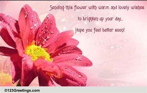 Lovely Wishes To Get Well Soon! Free Get Well Soon eCards