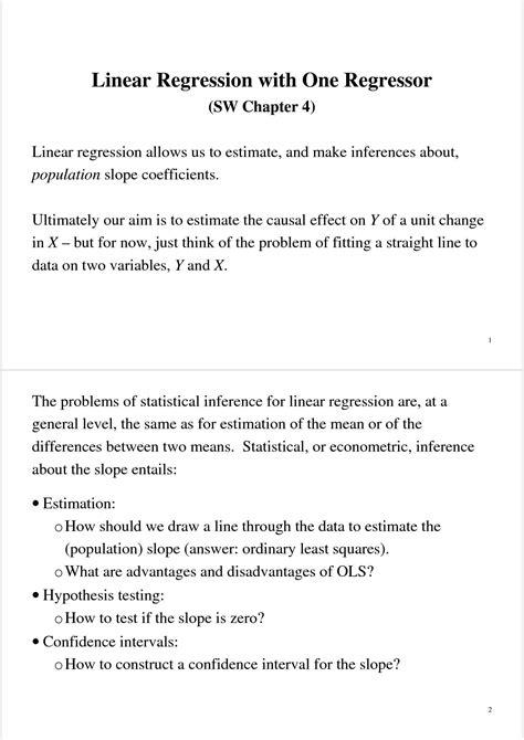 econometria dispense regressione multipla dispense