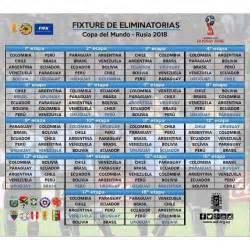 Calendario Eliminatorias Rusia 2018 Oceania Futbol De Locura Calendario De La Conmebol Para Rusia 2018
