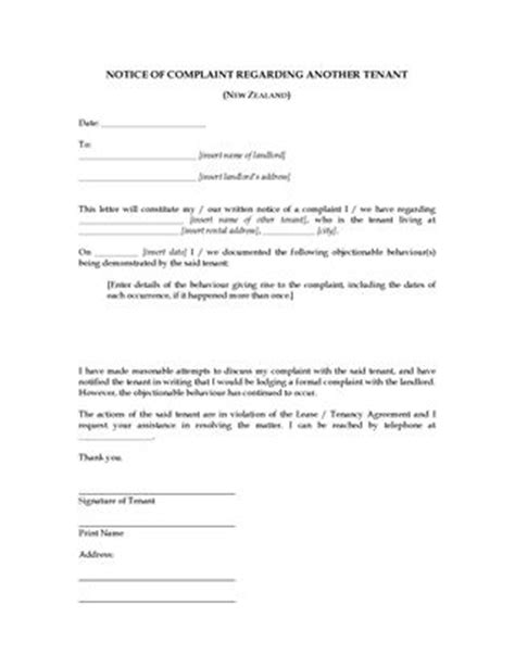 Ending Tenancy Letter Sle Nz new zealand landlord and tenant notice forms forms and business templates megadox