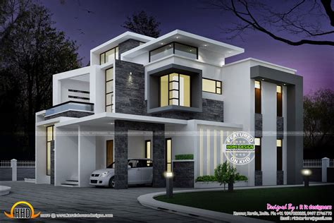 contemporary mansion elevation zion modern house