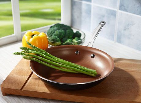 brentwood  induction copper  stick frying pan
