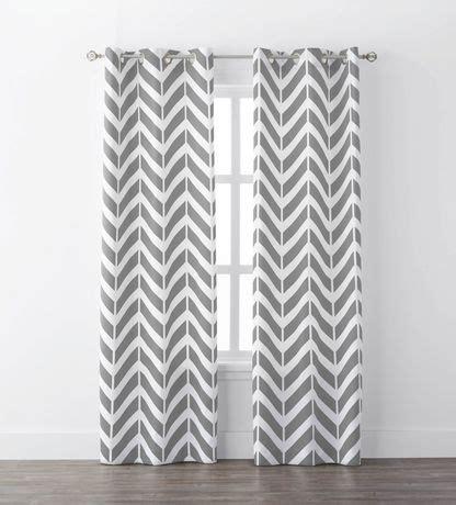 mainstays chevron geo window curtains | walmart canada