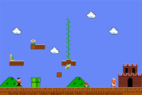 wallpaper android mario mario themed wallpaper for android large version