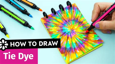how to make tie dye paper with markers 28 images to