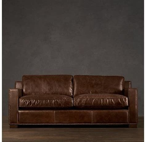 restoration hardware sofa restoration hardware collins