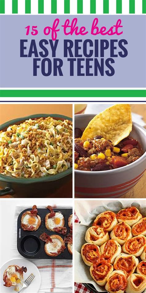 easy recipes  teens  life  kids