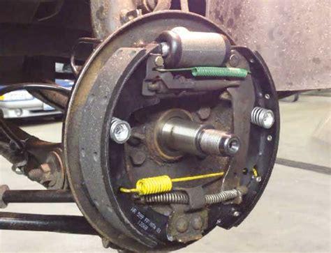 Lu Rem Mobil Belakang Komponen Dan Cara Kerja Rem Tromol Pada Mobil