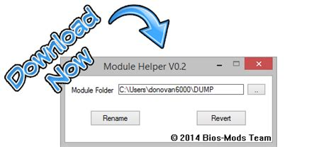 Andy S Bios Modification Tools by Module Helper