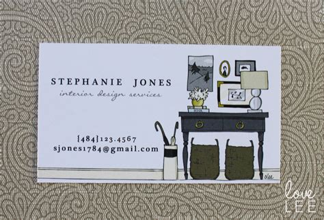 interior decorator business cards beautiful home design