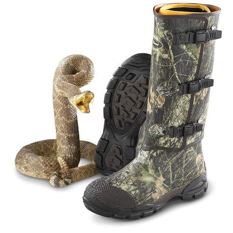 lacrosse venom snake boots s lacrosse 174 alpha venom rubber snake boots mossy oak