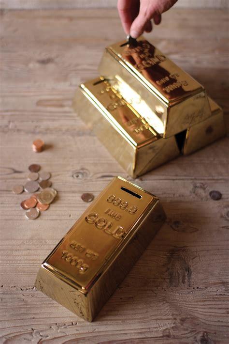 Gold Ank 1 gold bar bank modern furniture brickell collection