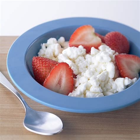 cottage cheese and strawberries and cottage cheese recipe eatingwell
