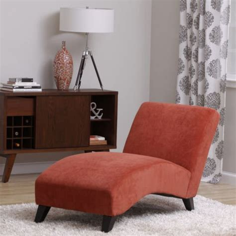orange living room chair product reviews buy bella orange paprika chaise lounger