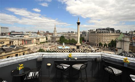 bar on top of one new change vista at the trafalgar hotel square soho london reviews