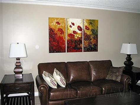 Sofa Paintings flower paintings in interior design by lena