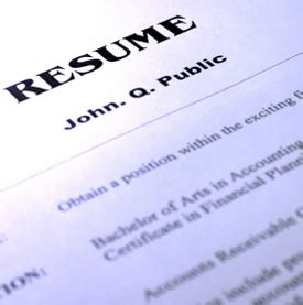 what matters on your resume snagajob