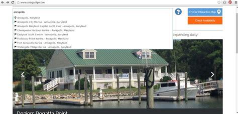 boat slip rental annapolis snag a slip reveals major site enhancements offers boat