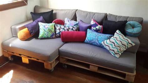 sillones hechos con palet ideas con palets para el living de 50 im 225 genes de