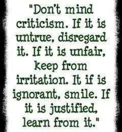 Critics Critique by Criticism Quotes Quotesgram