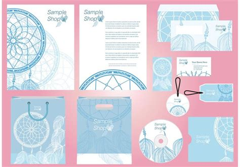 dreamcatcher profile template vector download free