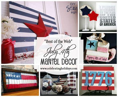 framed art diy decorating for july 4th celebrating holidays mantle diy decorating for july 4th celebrating holidays
