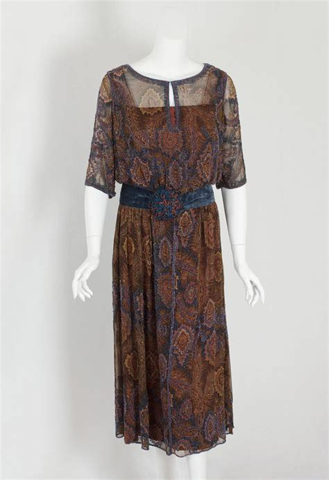 beaded 1920s dress beaded chiffon dress early 1920s inspiration 1920s