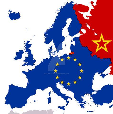 iron curtain soviet union new cold war map by saint tepes on deviantart
