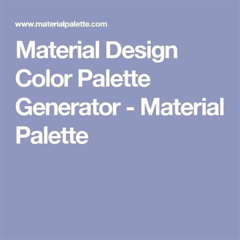 best 25 color palette generator ideas on