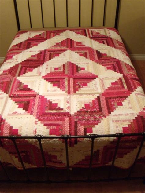 Cabin Raising Quilt by White Barn Log Cabin Quilts And Log Cabins On