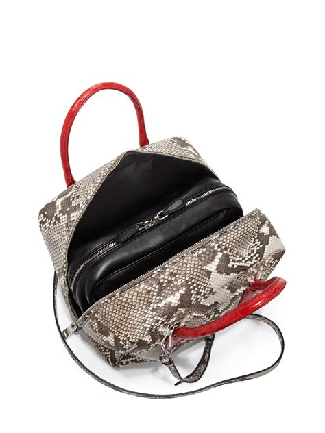 Hermes Prada prada medium python inside bag purses that look like