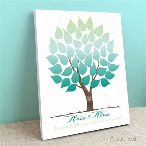 wedding canvas guest book pin by peachwik on wedding tree guest book canvas pinterest