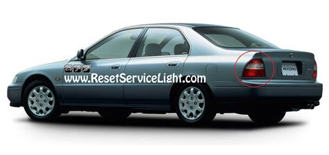 How To Change The Light Assembly On Honda Accord 1994