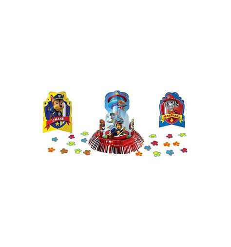 paw patrol table paw patrol table decorating kit supplies in